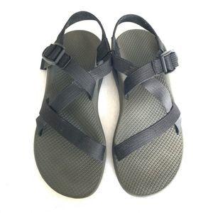 CHACO Z Black Cloud Classic Sandals 9